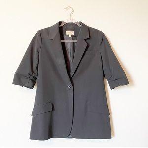 Elizabeth and James 1-Button Blazer Jacket